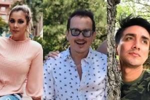 David Reinoso, Catherine Velasteguí y Emerson Morocho