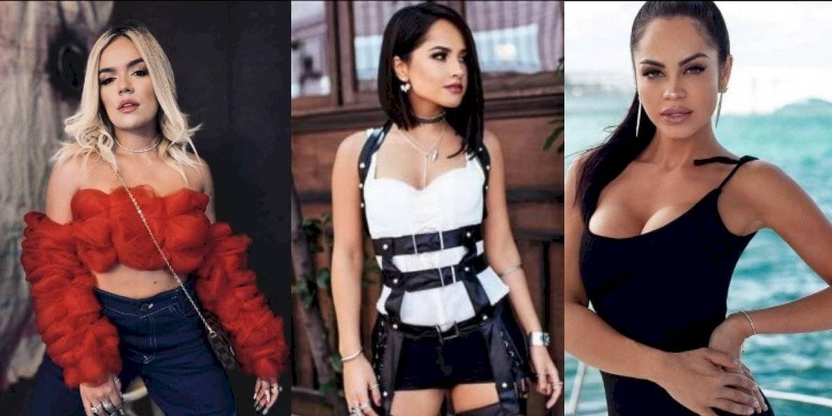 FaceApp: Así se ven Natti Natasha, Shakira, Becky G y Karol G