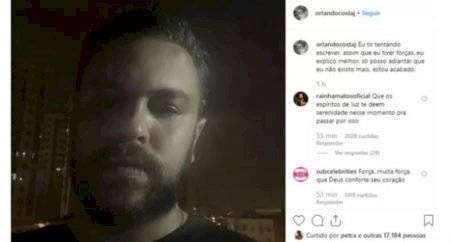 Orlando Costa namorado de Alinne Araujo