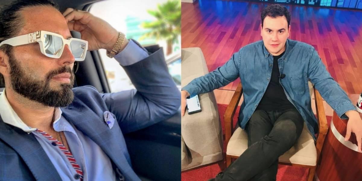 Poncho de Nigris protagoniza discusión con Aldo Farías