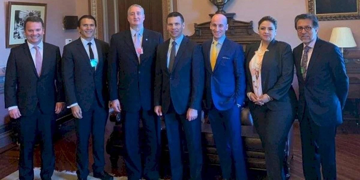Funcionarios guatemaltecos finalizan reuniones en Washington