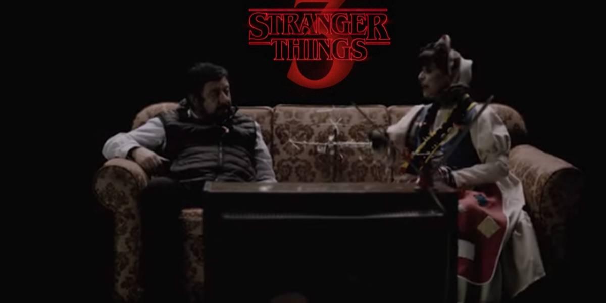 Netflix estrena nuevo comercial de Stranger Things protagonizado por Jaime Maussan y Cositas
