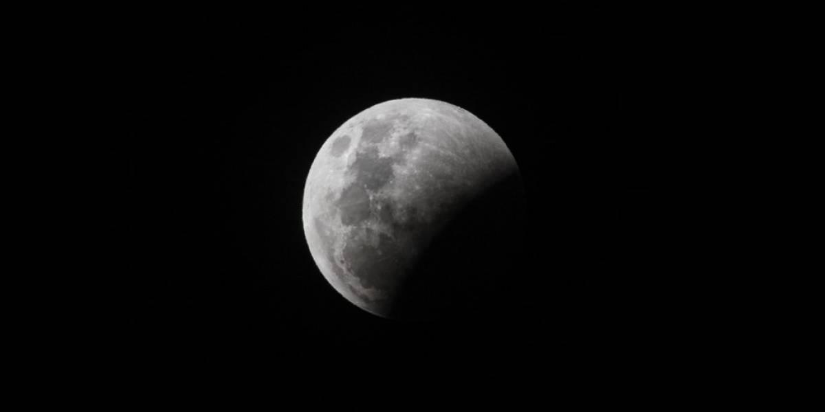 EN VIVO. Mira el espectacular eclipse lunar parcial