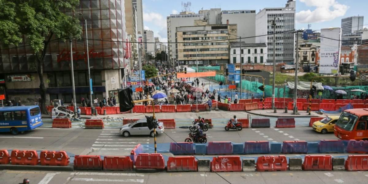 ¿Por fin va a terminar la peatonalización de la Carrera Séptima?