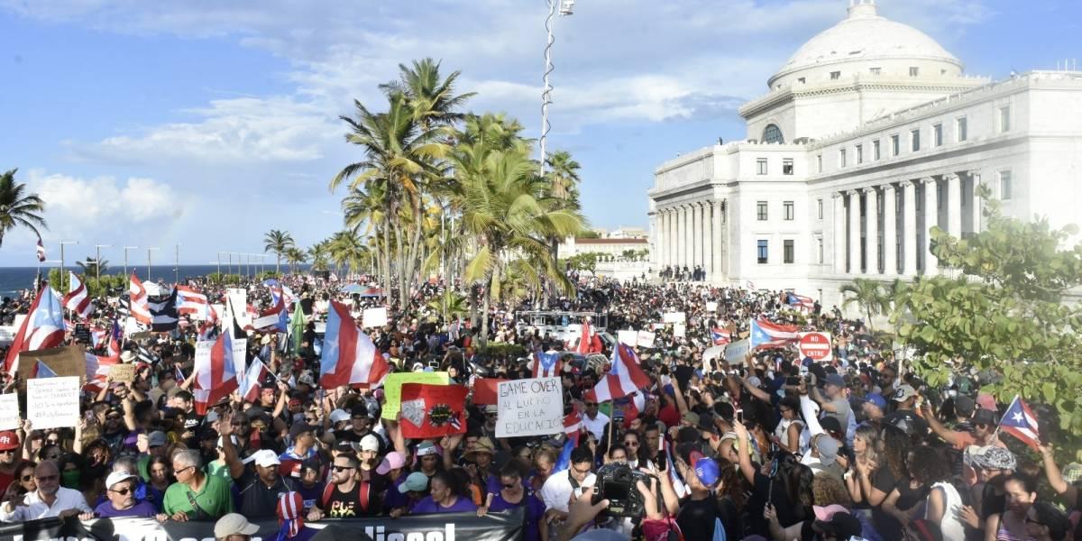 Video estima alrededor de 400 mil personas en manifestación