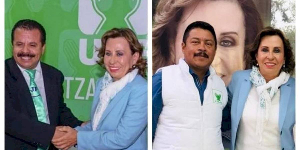 Alcaldes electos de Quetzaltenango y Momostenango confirman apoyo a Sandra Torres