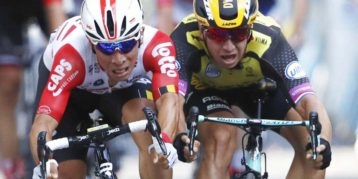 Tour de Francia: Caleb Ewan gana la 11ª etapa por escasos milímetros y Alaphilippe sigue de líder