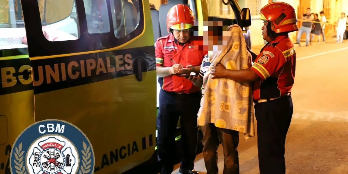 Bebé resulta ileso de ataque armado que dejó un muerto y un herido