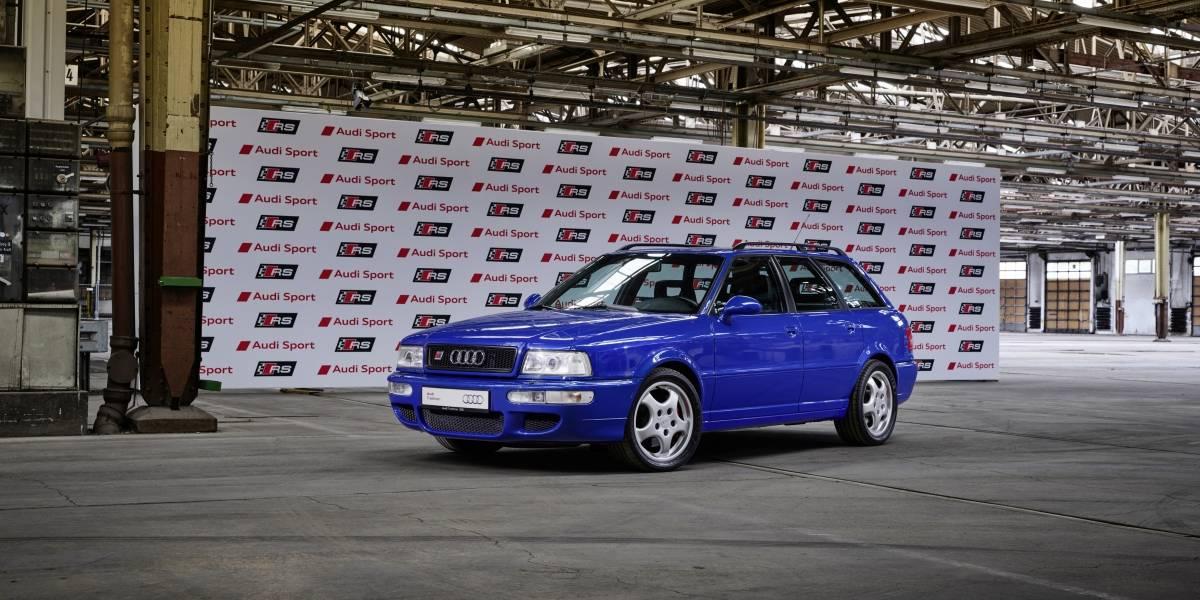 Audi celebra un cuarto de siglo desde la aparición de sus RS