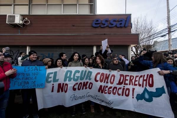 Essal afirma que el 72% de Osorno ya tiene agua potable