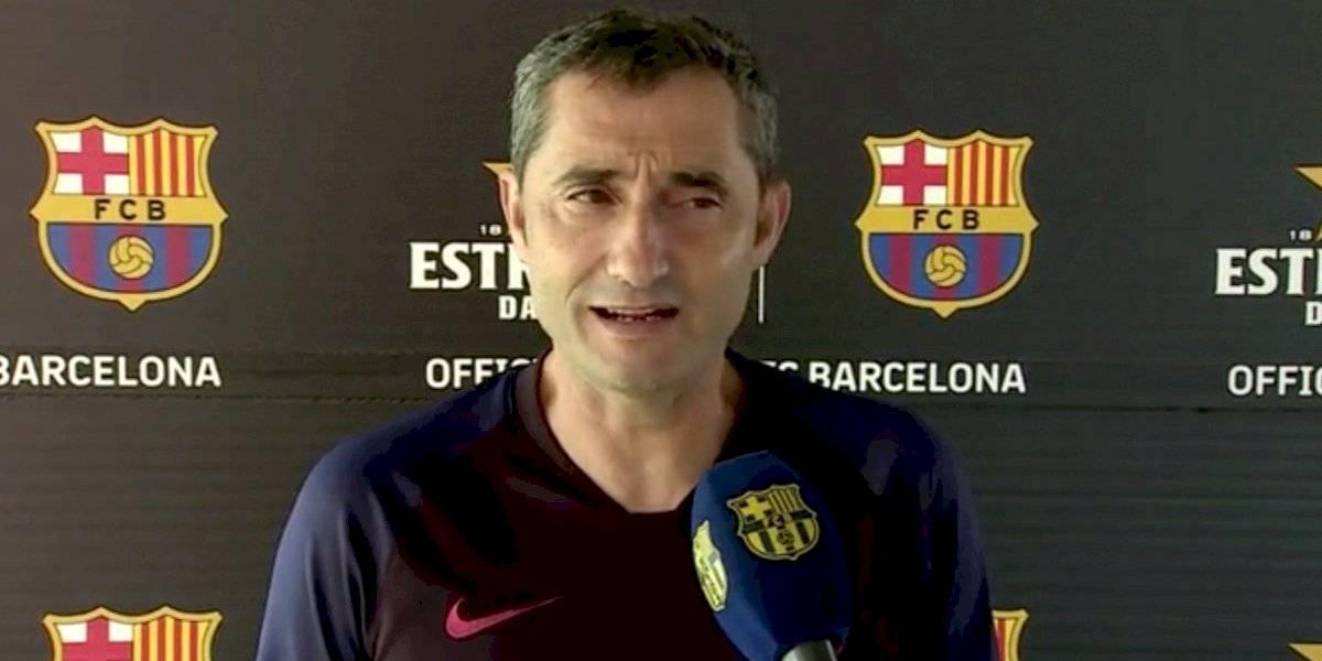 """Ojo Vidal: Valverde ya se ilusiona con la """"frescura"""" que le entrega de Jong al mediocampo del Barcelona"""