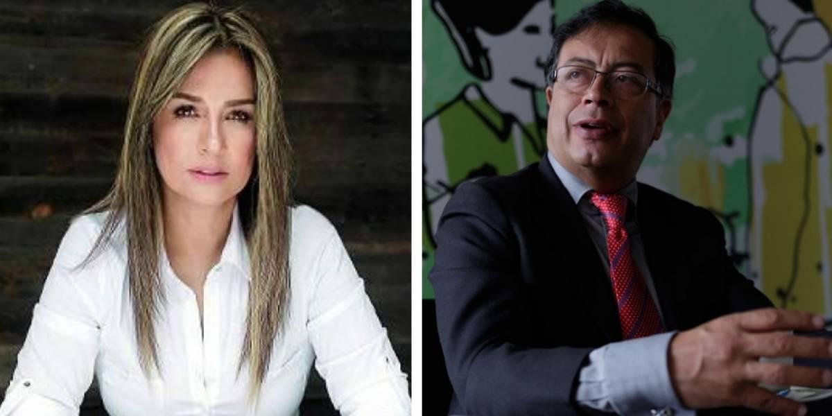 Lo que Vicky Dávila no contó y resultó ser el desplante original a Gustavo Petro