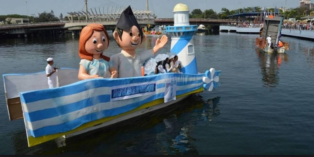 El desfile náutico 'El río Guayas es mi destino' será el 20 de julio