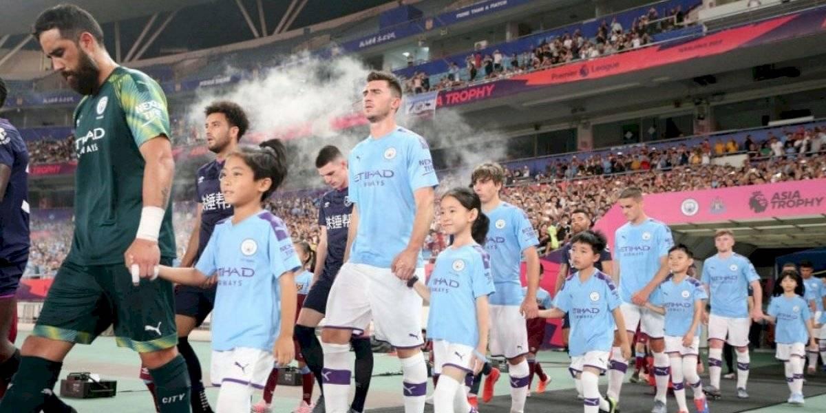 Fin del calvario: Claudio Bravo volvió a jugar tras 11 meses en Manchester City