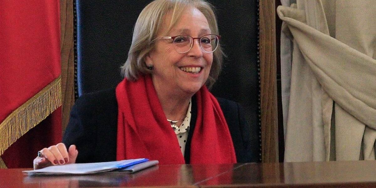 Senado aprobó designación de María Angélica Repetto como ministra de la Corte Suprema de Justicia