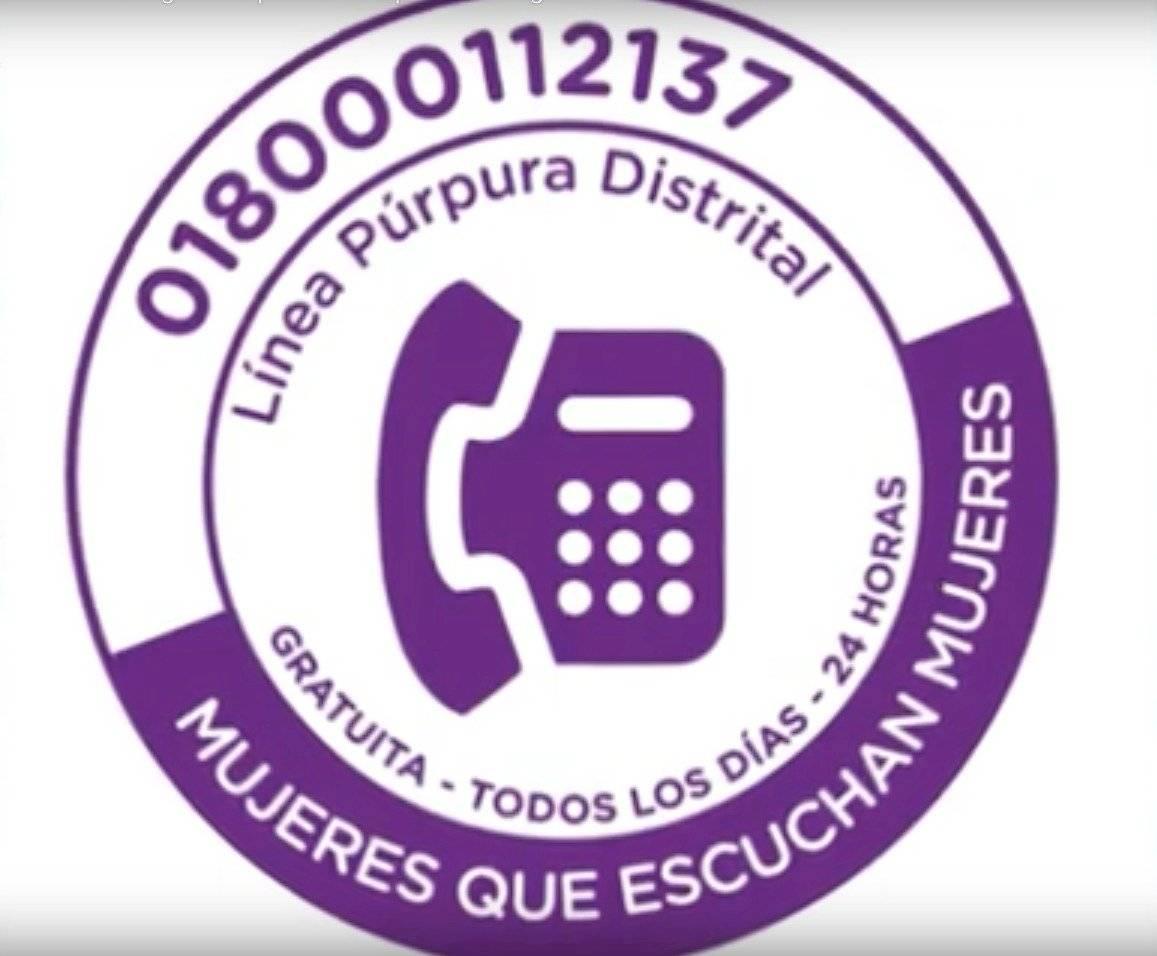 Línea Púrpura Distrital