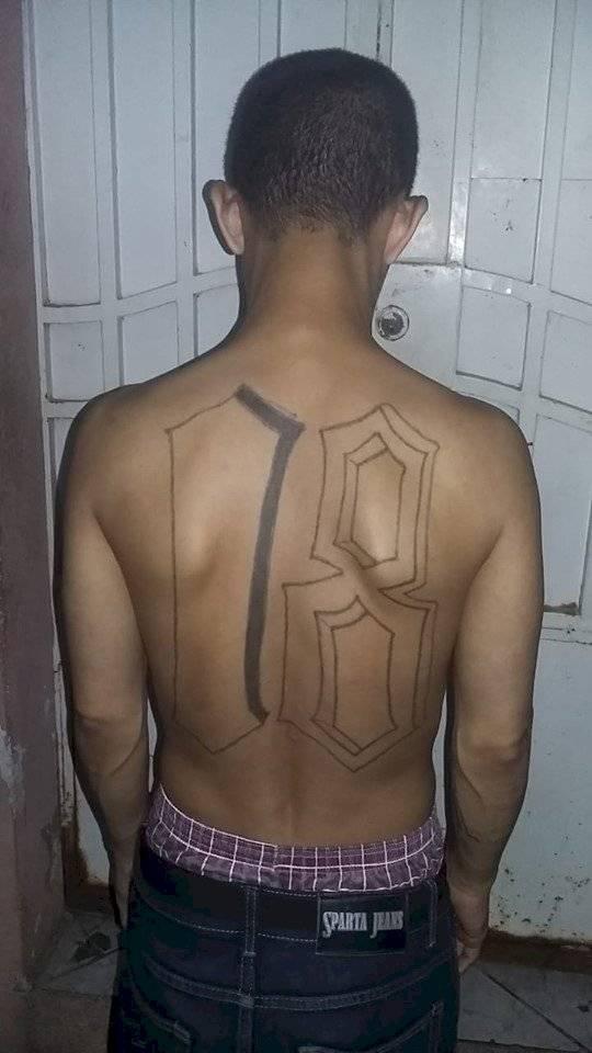 capturan a presunto pandillero salvadoreño Jutiapa