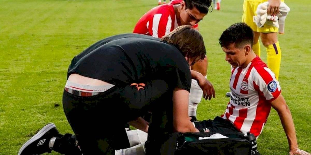 Chucky Lozano presenta molestias en su regreso con el PSV