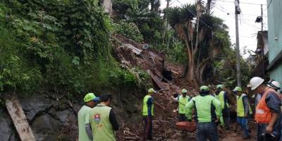 deslizamiento de tierra en zona 18