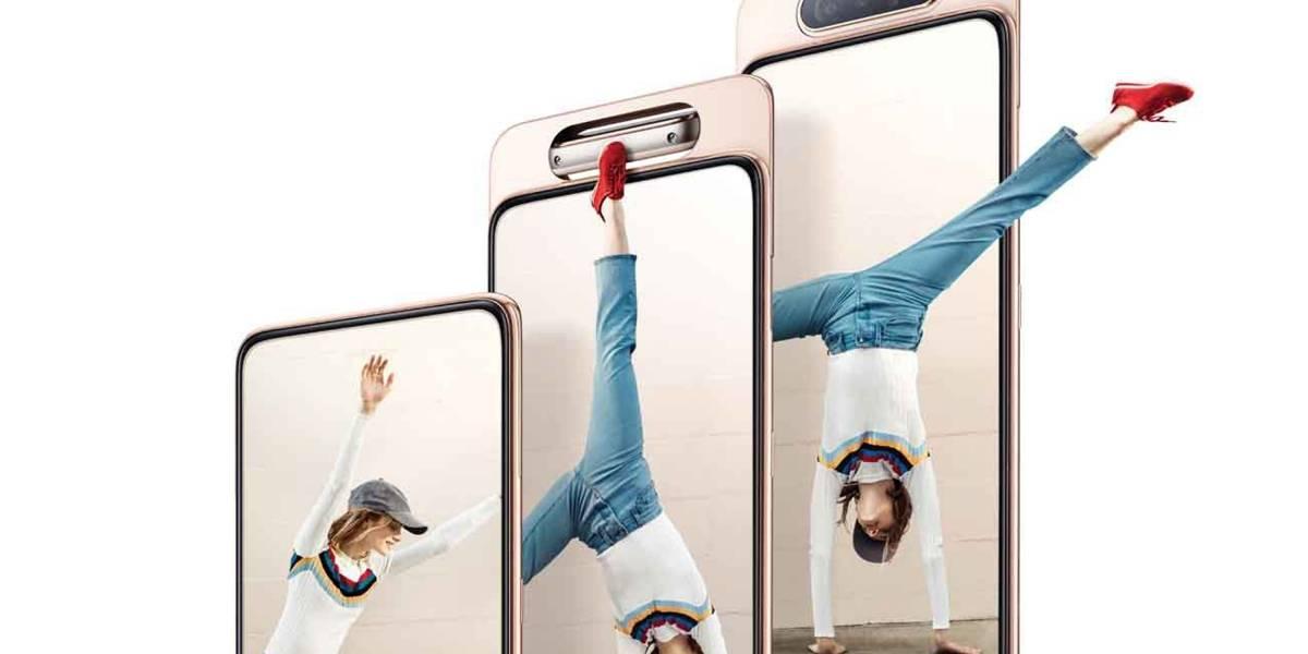 Samsung lanzó en Chile el Galaxy A80, su nuevo celular con cámara giratoria