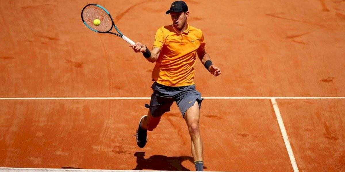 """Nicolás Jarry se ilusiona en el circuito ATP: """"Estoy muy feliz por la forma en que he ido mejorando este año"""""""