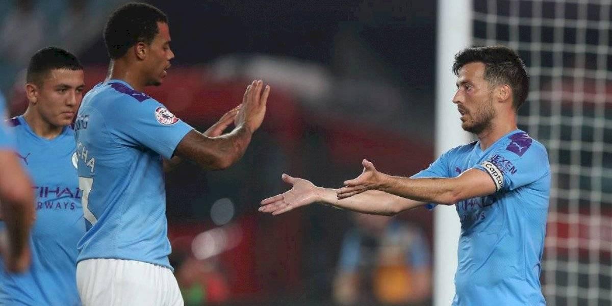 El City goleó al West Ham de Pellegrini con el regreso a las canchas de Claudio Bravo