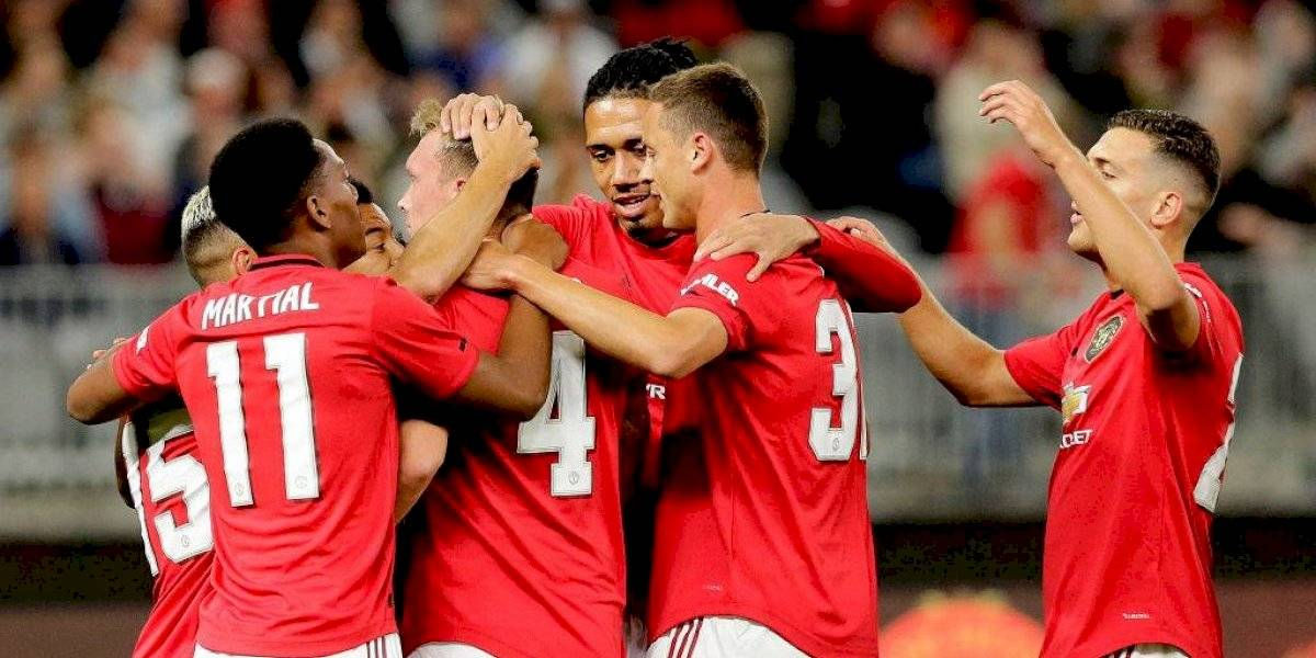 Manchester United no tuvo piedad y vapuleó al Leeds de Marcelo Bielsa