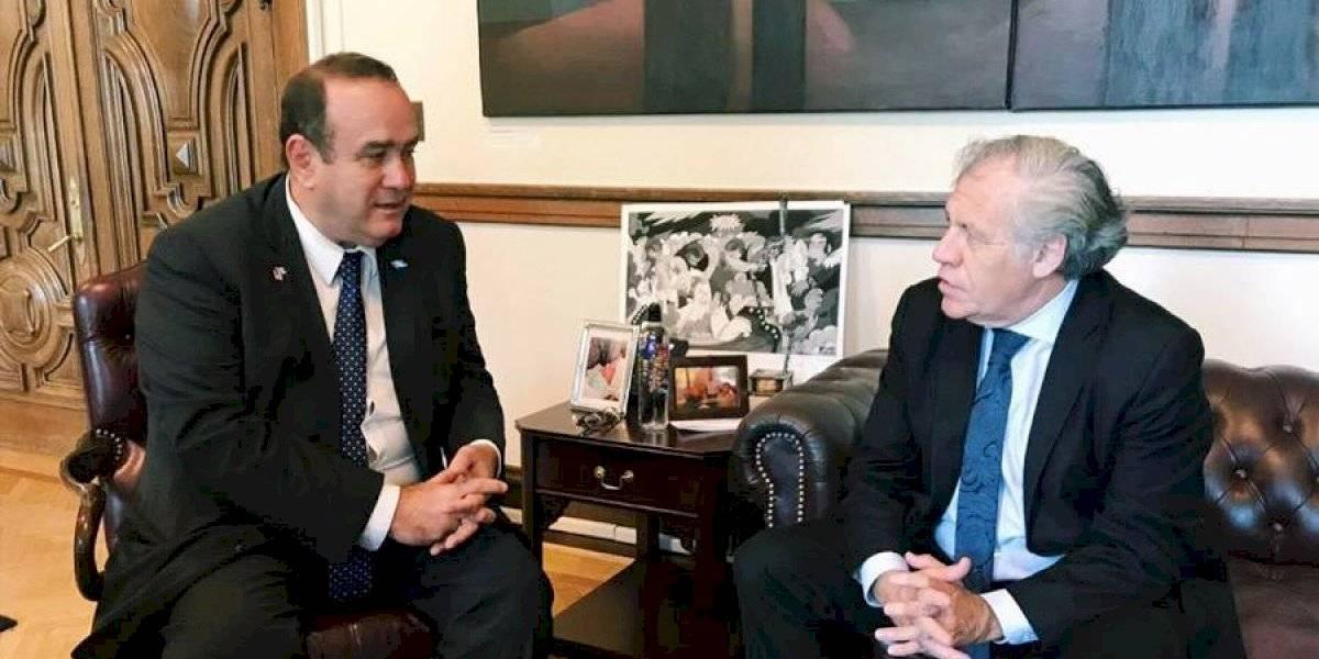 """Giammattei: """"Almagro se comprometió a una presencia mucho mayor de la OEA"""" en el balotaje"""