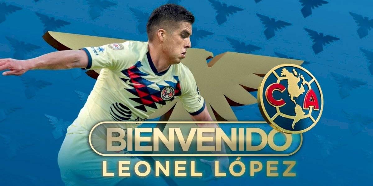 ¡De diablo, a Águila! Leonel López es nuevo jugador del América