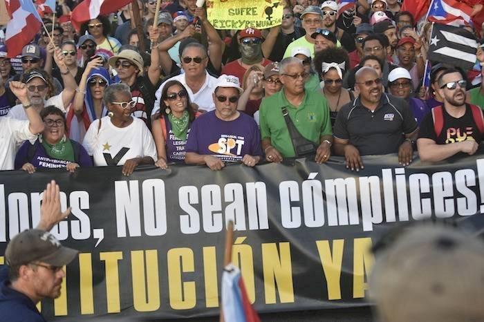 Manifestacion - 17 julio 2019