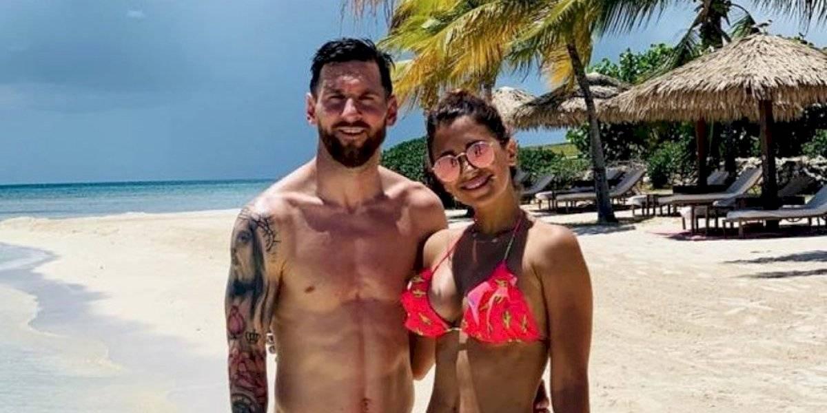 Messi y Antonela muestran su versión más romántica, rodeados de estrellas