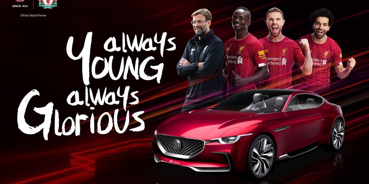 MG expande globalmente su vínculo con Liverpool