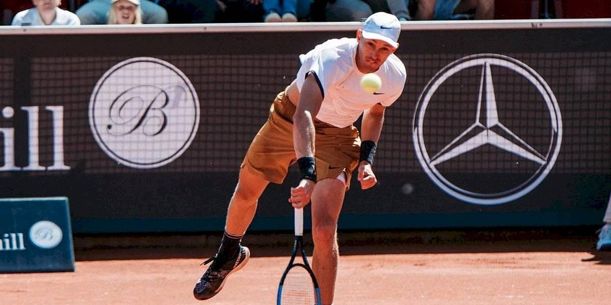 Nicolás Jarry volvió a conseguir un sólido triunfo y se metió en los cuartos de final del ATP de Bastad