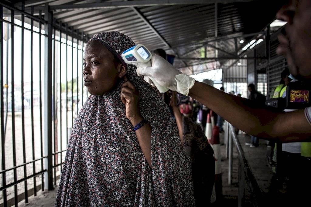 Epidemia de ébola en el Congo