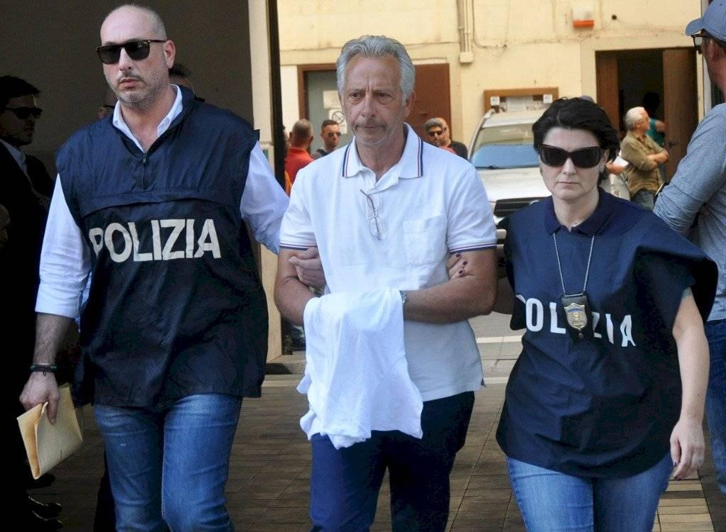 Francesco Inzerillo detenido en Italia