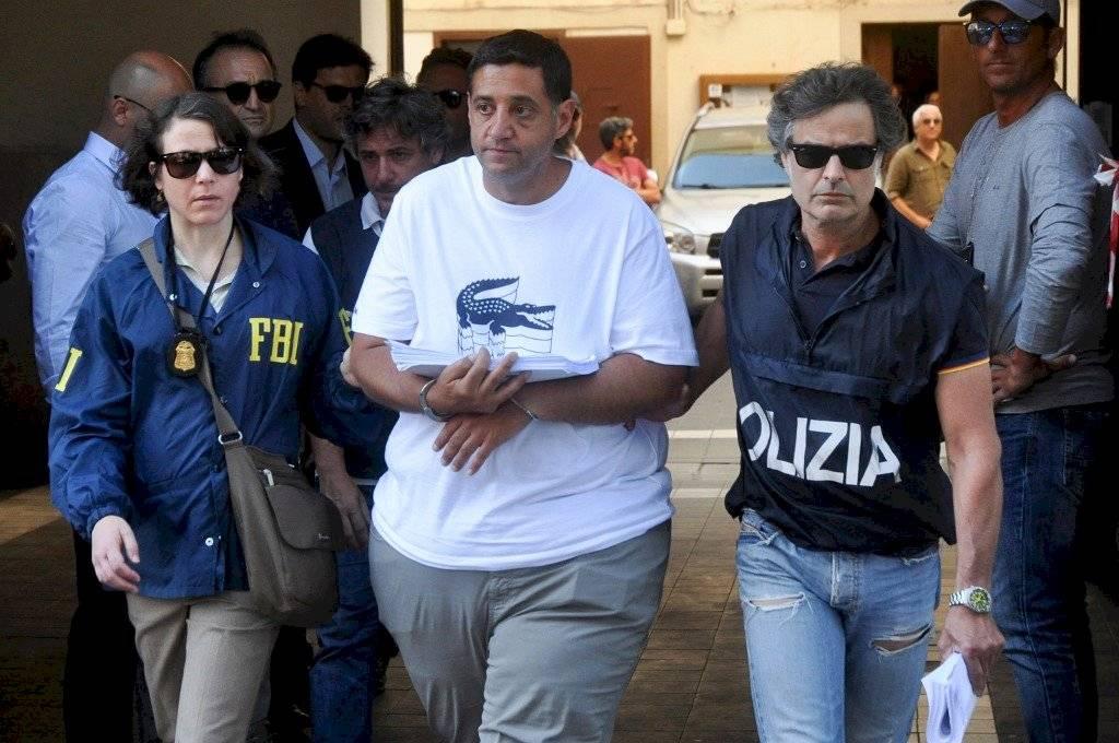 Thomas Gambino detenido en Italia