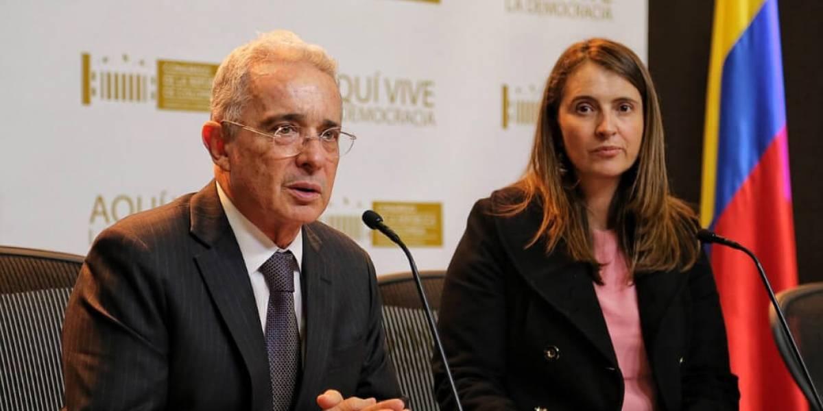 La mentira de que dijo Paloma Valencia sobre proceso de Uribe