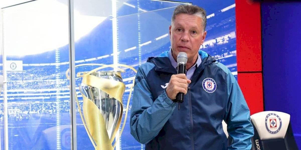 Vamos por todo, es el compromiso que tenemos en Cruz Azul: Ricardo Peláez