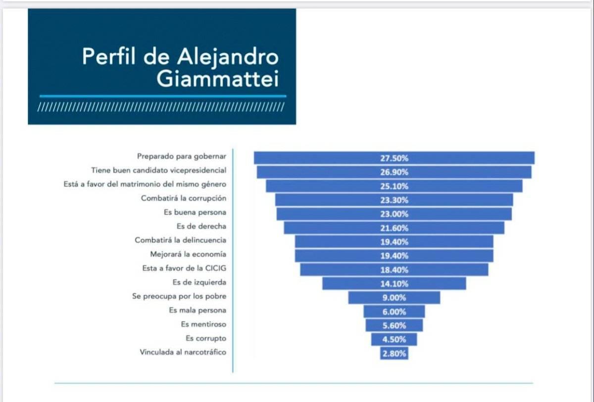 perfil de Alejandro Giammattei