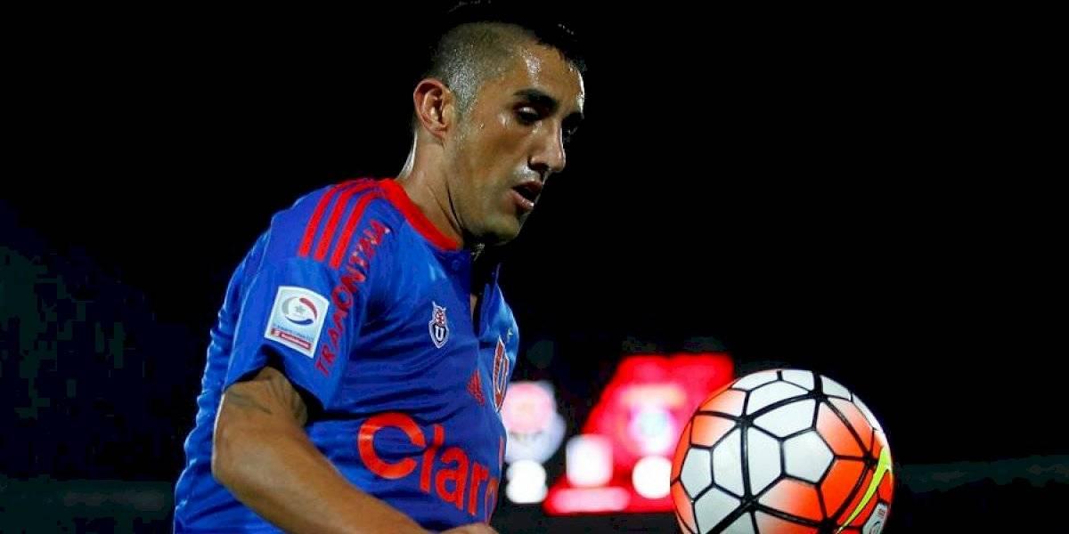 """Osvaldo González llegó a Chile para sumarse a la U: """"Espero estar a la altura de lo que necesita el equipo"""""""