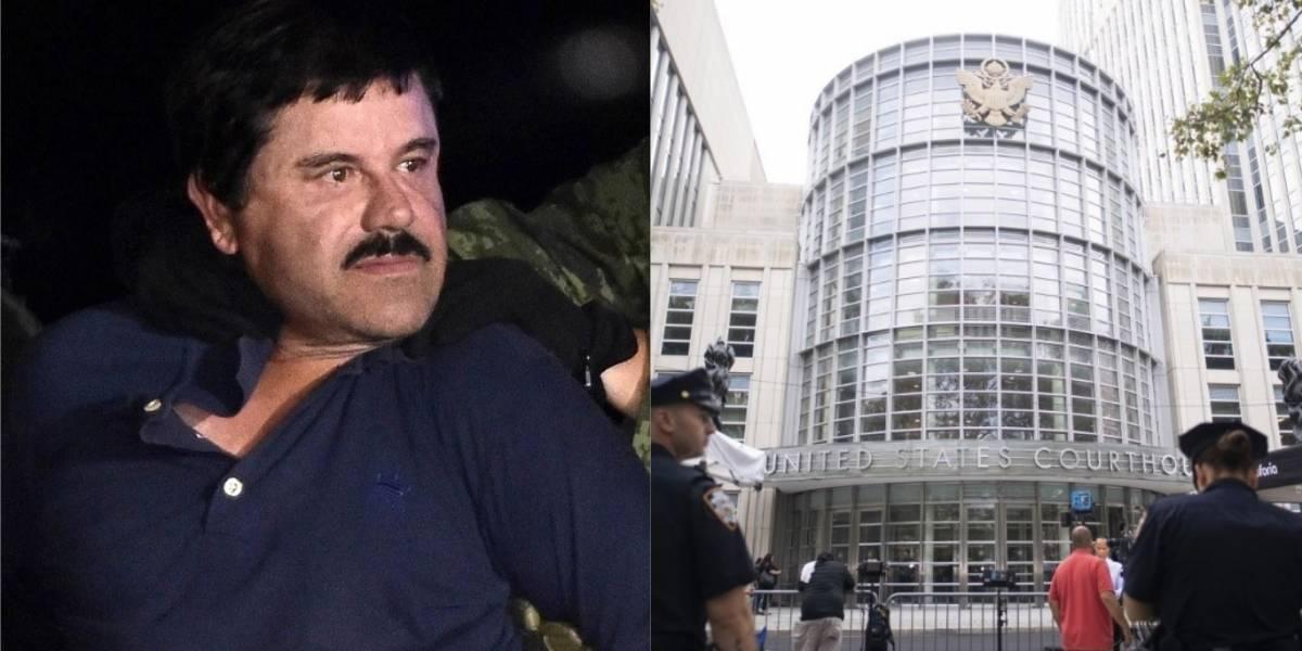 """Esto dijo """"El Chapo"""" Guzmán tras escuchar su sentencia de cadena perpetua"""
