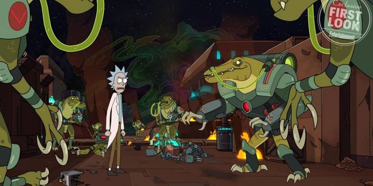 Rick & Morty muestra primeras imágenes de cuarta temporada antes de Comic Con 2019