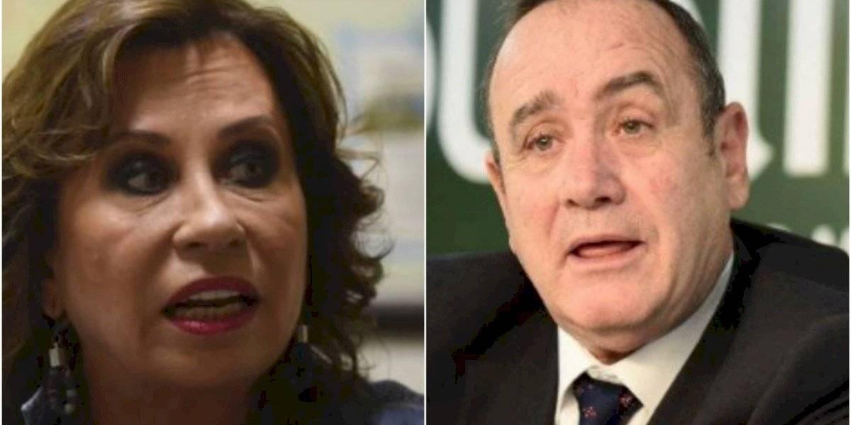Estudio presenta intención de voto a pocos días del balotaje entre Torres y Giammattei