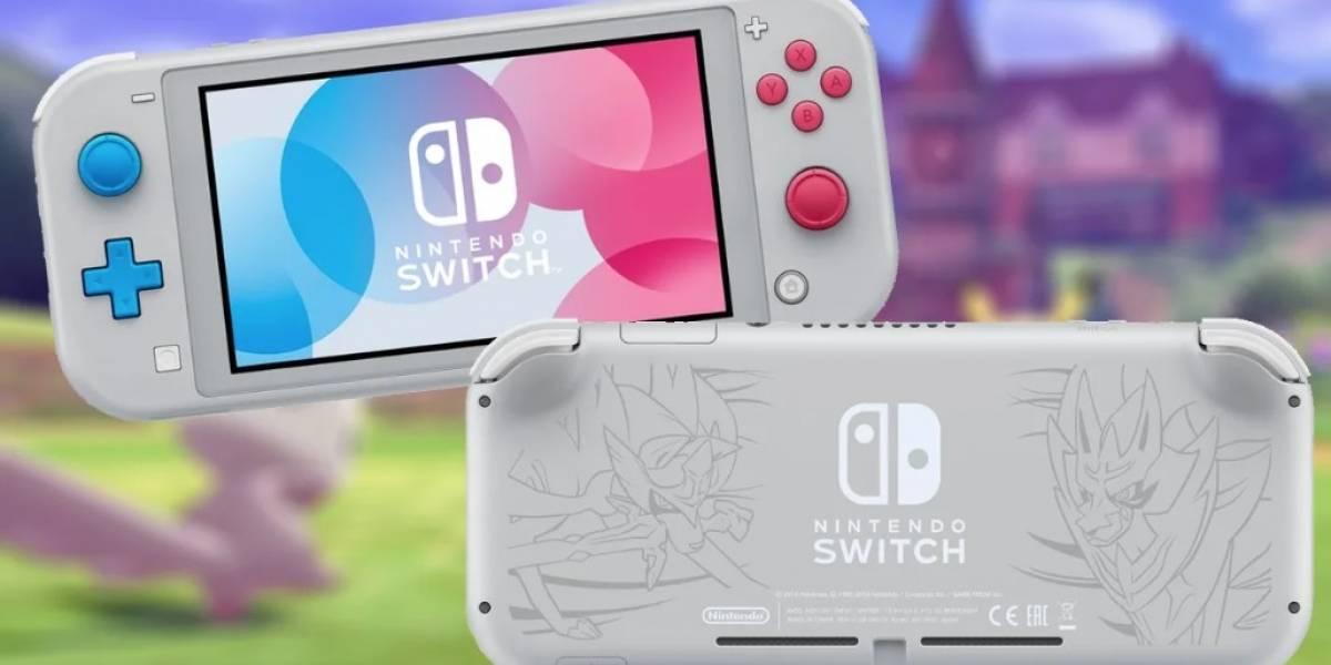 Consigue el Nintendo Switch Lite de Pokémon Sword & Shield antes que nadie