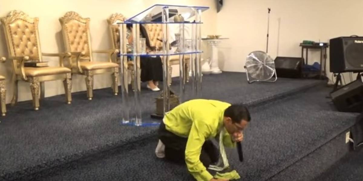 Viral video de evangelista que anticipa sacudida al Gobernador