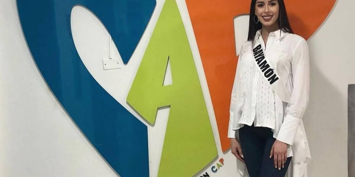 Candidata de Bayamón al Miss Mundo visita a los niños del CAP y comparte su testimonio de vida