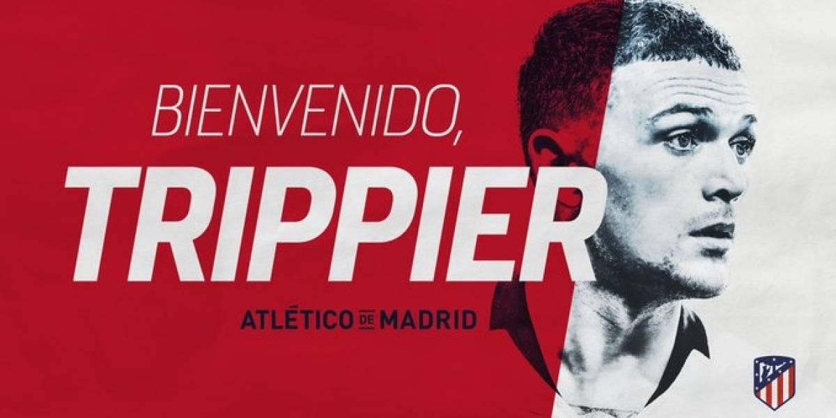 El Atlético de Madrid refuerza su defensa con Kieran Trippier