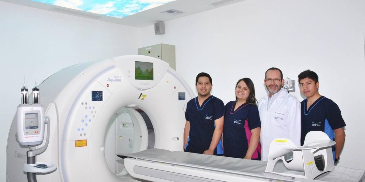 Hospital de los Valles adquiere tomógrafo que pronostica infarto al corazón