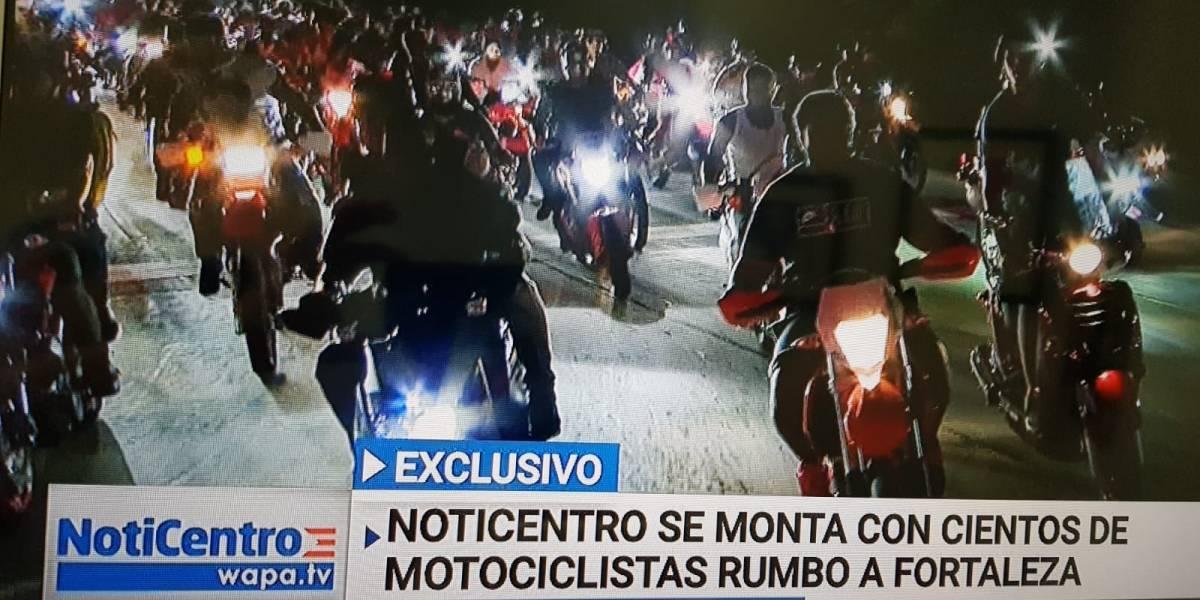 Miles de motoras van a Fortaleza, pero primero pasan por los caseríos