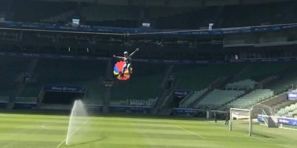 Torcedores podem 'voar' pelo Allianz Parque em tirolesa durante o mês de julho